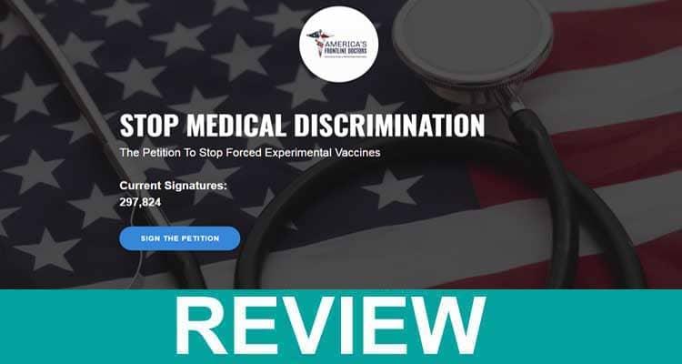 Stopmedicaldiscrimination 2021.