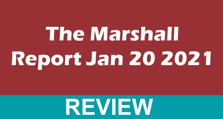 The Marshall Report Jan 20 2021 Dodbuzz
