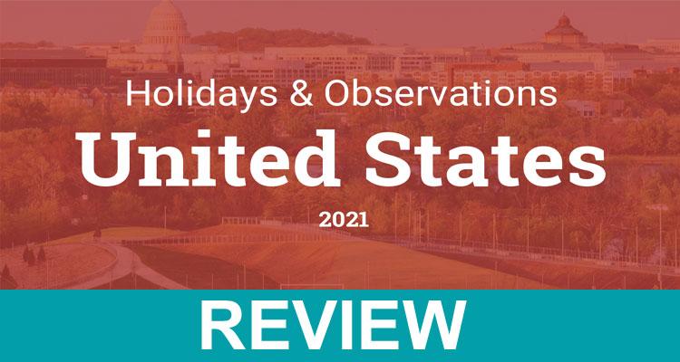 Us Federal Holidays 2021 List Dodbuzz