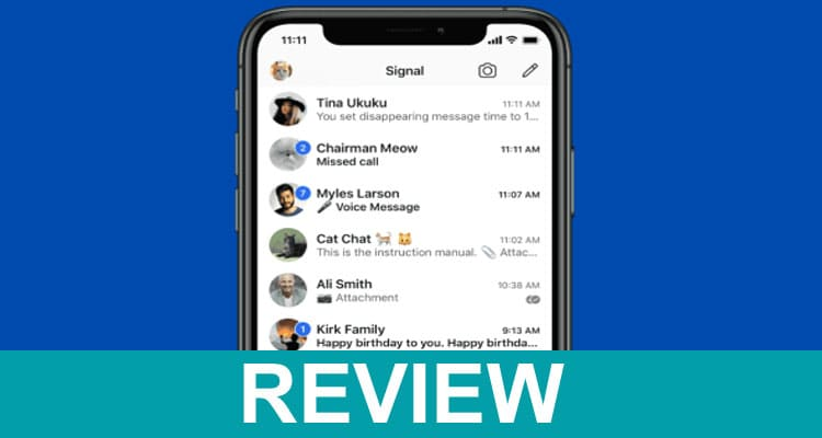 Who Owns Signal Messenger 2021