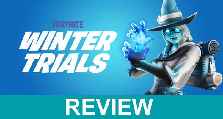 Winter Trials Fortnite Website 2021