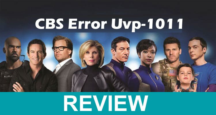 CBS Error Uvp-1011 2021