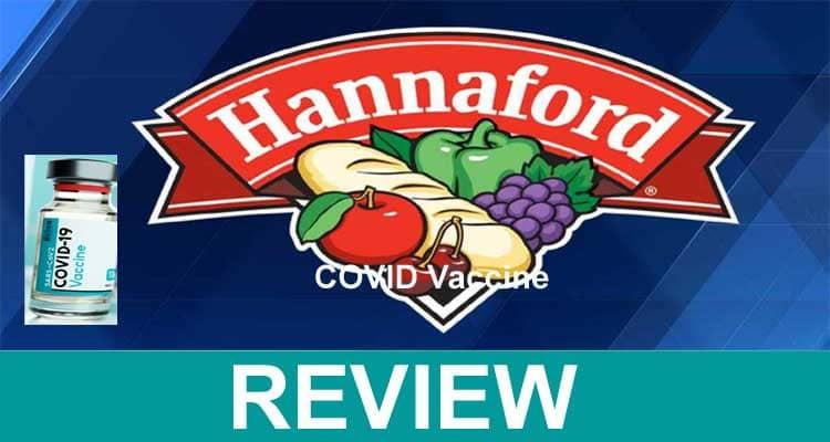 Hannaford COVID Vaccine 2021