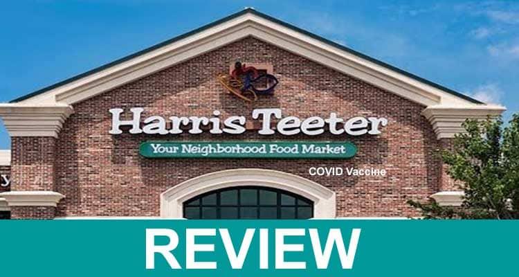 Harris Teeter COVID Vaccine 2021.