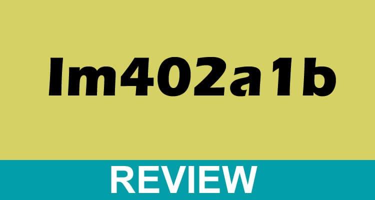 Im402a1b 2021