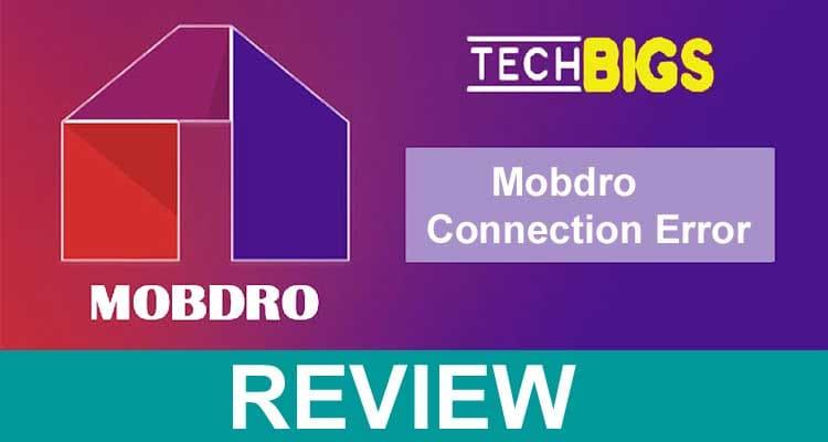 Mobdro Connection Error 2021.