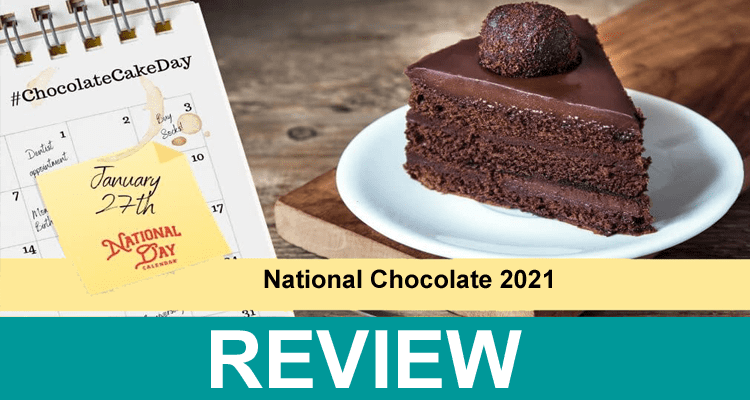 National Chocolate 2021 .