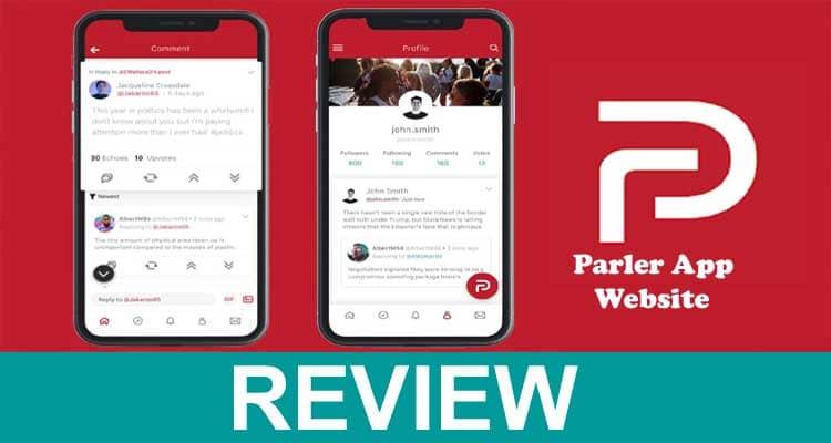 Parler App Website 2021