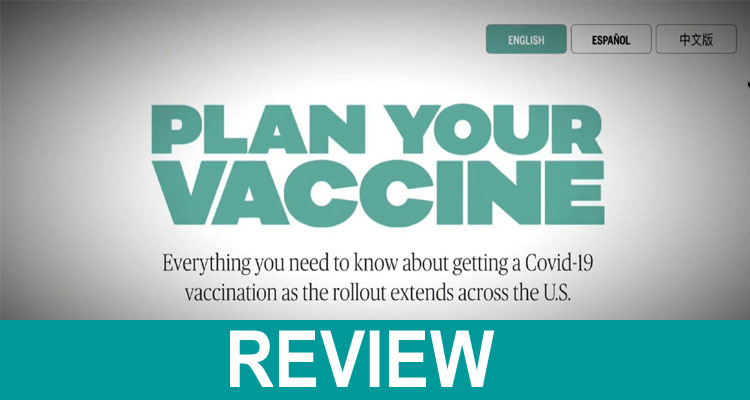 Plan Your Vaccine.Org 2021