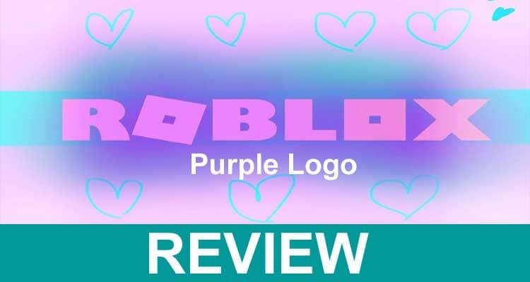 Roblox Purple Logo 2021.