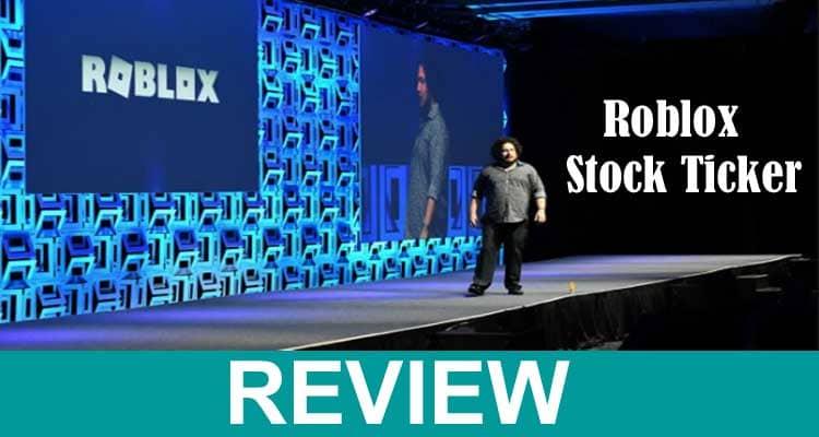 Roblox Stock Ticker 2021