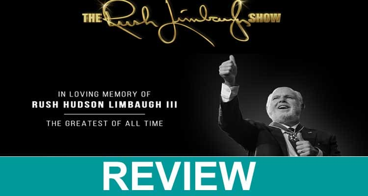 Rush Limbaugh. com 2021