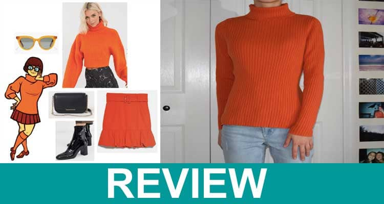 Scooby Doo Orange Turtleneck 2021