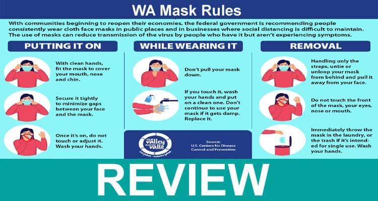 WA Mask Rules 2021.
