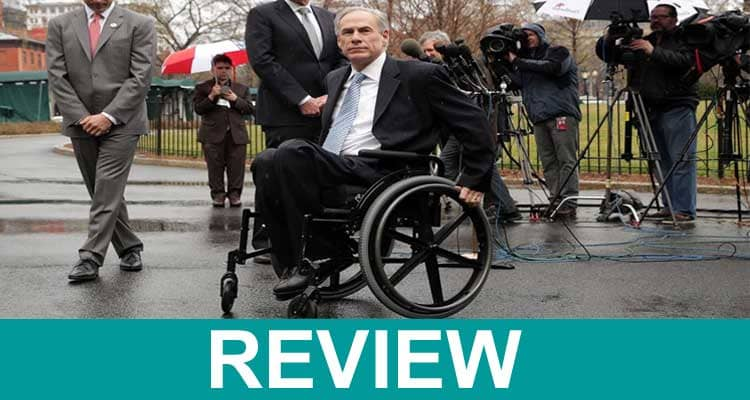 Why Is Texas Governor in a Wheelchair 2021