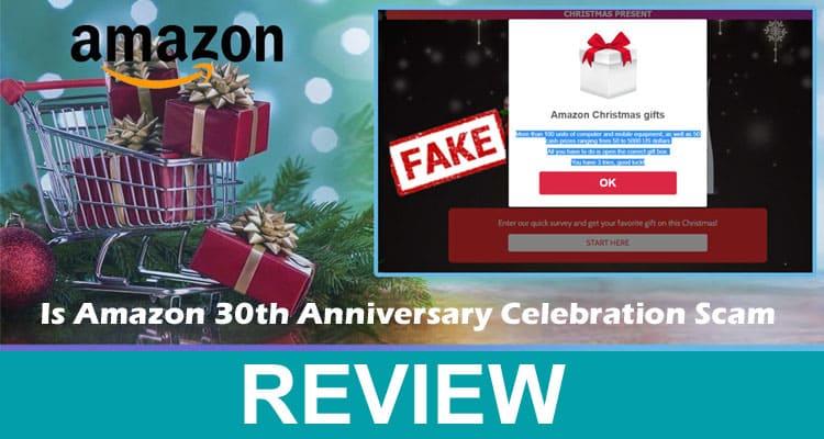 Is Amazon 30th Anniversary Celebration Scam 2021