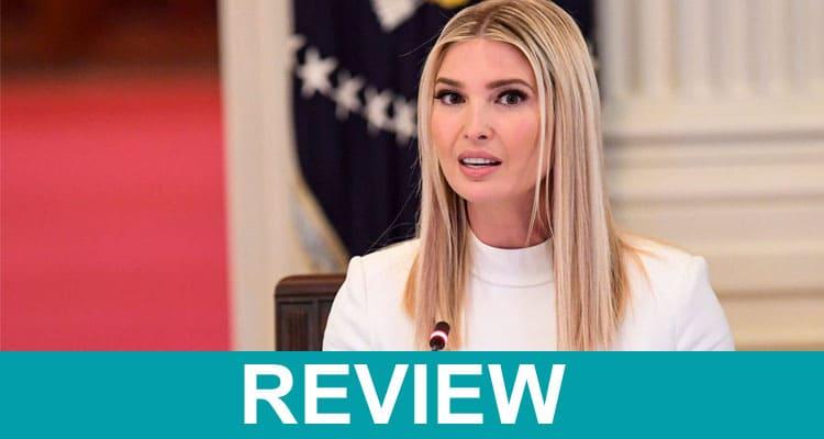 Ivanka Trump New Website 2021