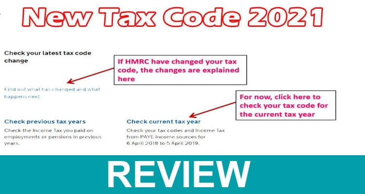New Tax Code 2021 Dodbuzz