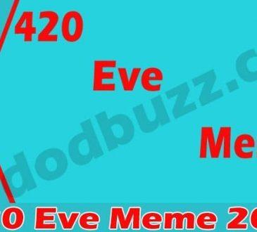 420 Eve Meme 2021