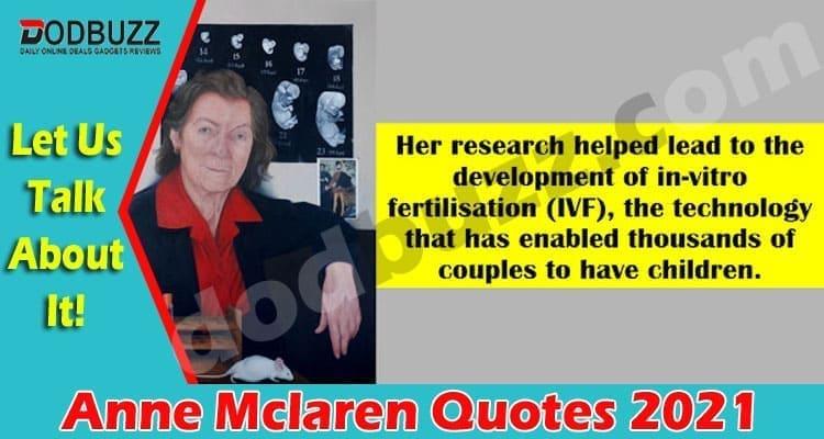 Anne Mclaren Quotes 2021