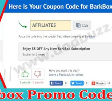 Barkbox Promo Code 2021.
