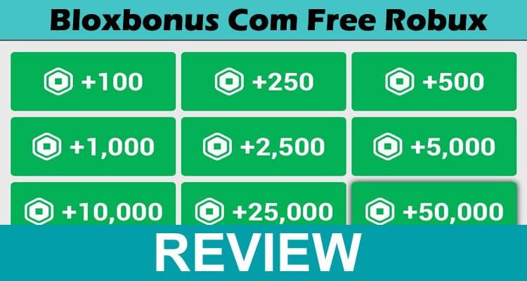 Bloxbonus Com Free Robux 2021 Dodbuzz
