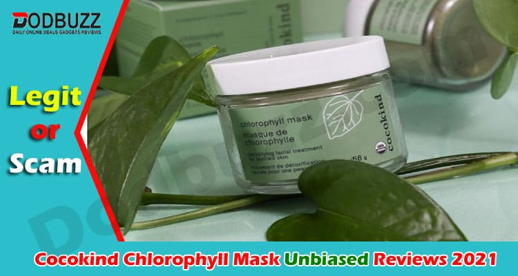 Cocokind Chlorophyll Mask Review 2021.