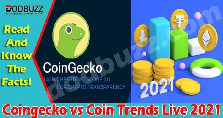 Coingecko vs Coin Trends Live 2021