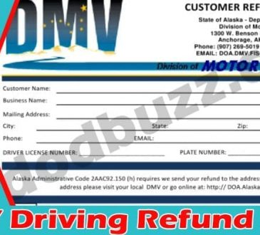 DMV Driving Refund 2021.