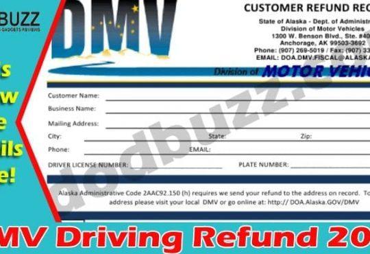 DMV Driving Refund 2021.