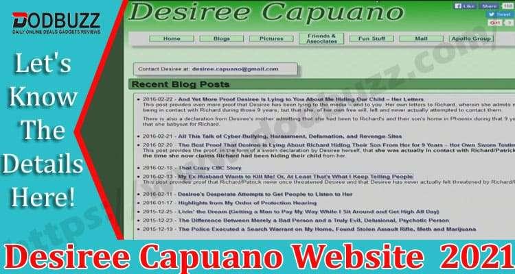 Desiree Capuano Website