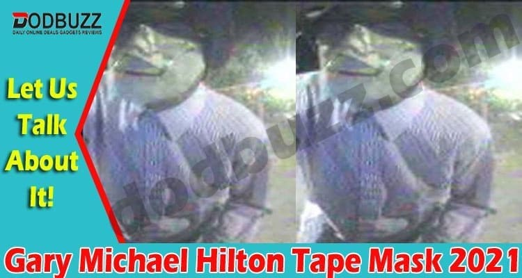 Gary Michael Hilton Tape Mask 2021.