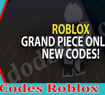 Gpo Codes Roblox 2021