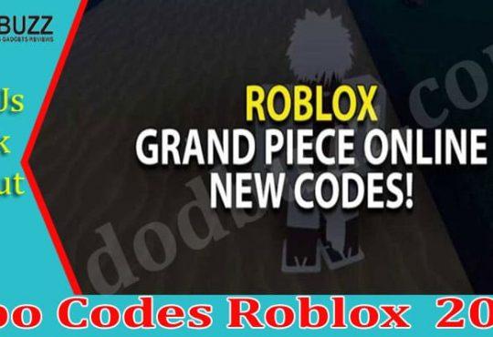 Gpo Codes Roblox 2021