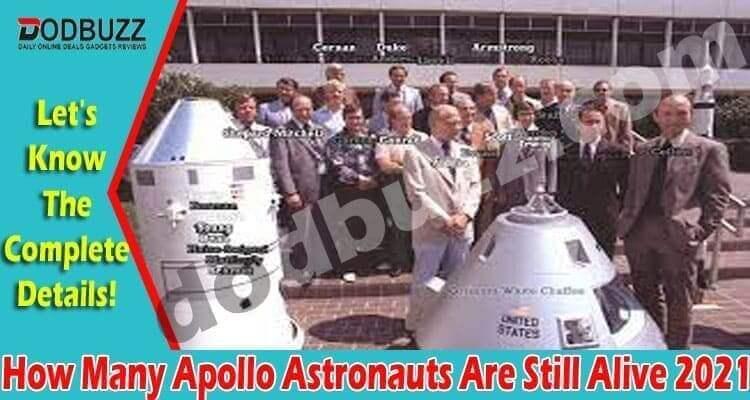 How Many Apollo Astronauts Are Still Alive (April 2021)