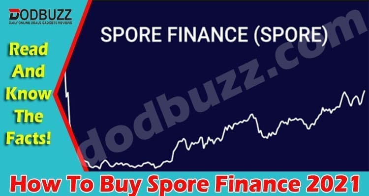 How To Buy Spore Finance (April 2021) Checkout Now!