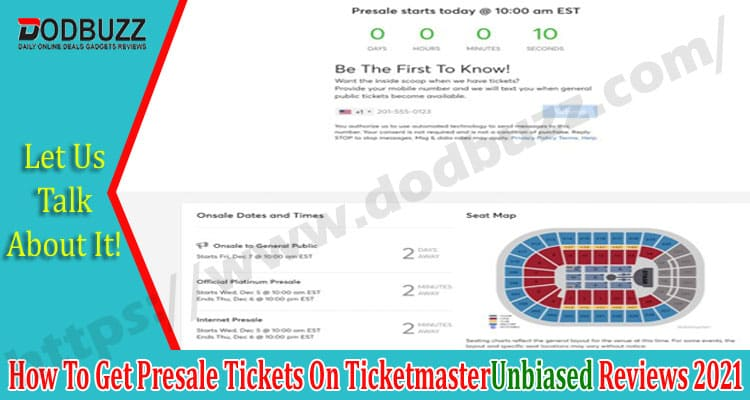 How To Get Presale Tickets On Ticketmaster 2021