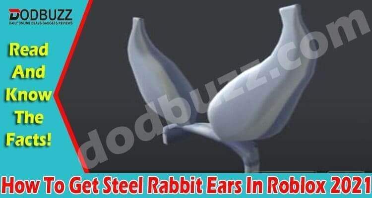 How To Get Steel Rabbit Ears In Roblox (April) Checkout!