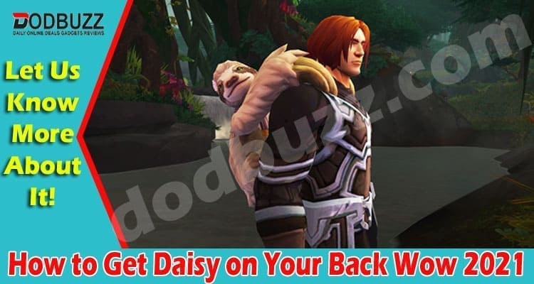 How to Get Daisy on Your Back Wow