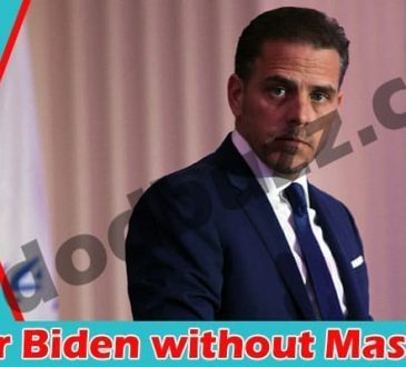 Hunter Biden without Mask 2021
