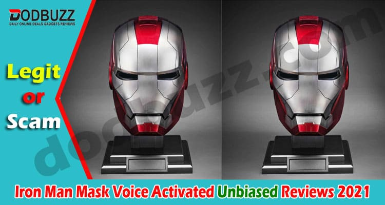 Iron Man Mask Voice Activated (April) Checkout Here!