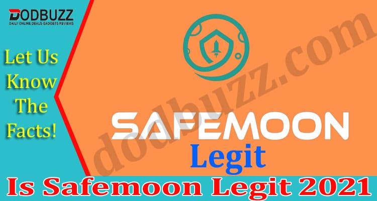 Is Safemoon Legit 2021
