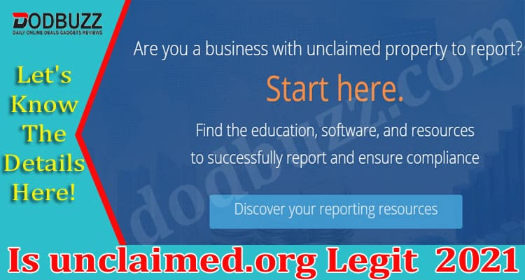 Is unclaimed.org Legit 2021