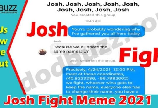 Josh Fight Meme 2021.
