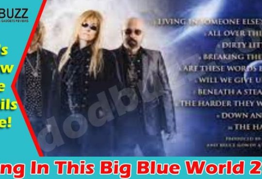 Living In This Big Blue World (Apr) What's All About