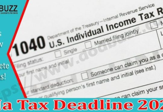 Ma Tax Deadline 2021