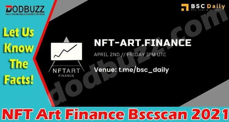 NFT Art Finance Bscscan 2021