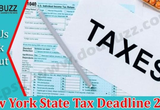 New York State Tax Deadline 2021 Dodbuzz.com