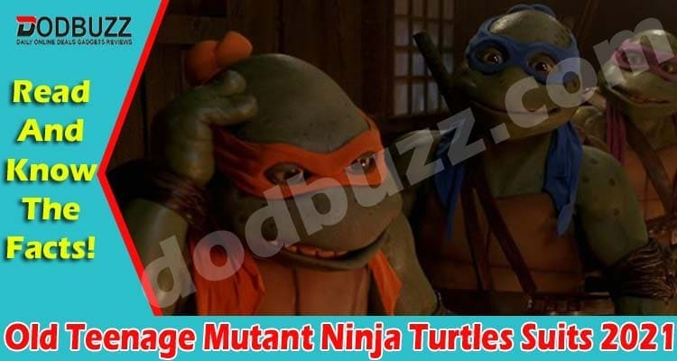 Old Teenage Mutant Ninja Turtles Suits 2021