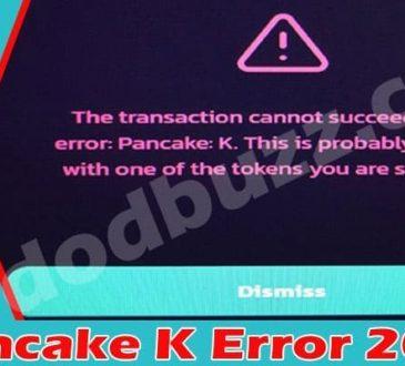Pancake K Error 2021